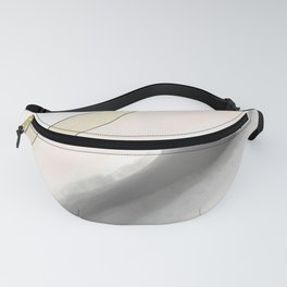 Simplified Pink Agate Fanny Pack