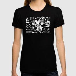 Rabid Giant Mutated Squirrels Bring Doom unto Humanity T-shirt