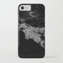 Los Angeles map  iPhone Case