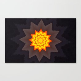 Sunstar Canvas Print