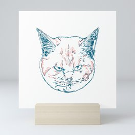 British Shorthair Scottish Fold Mini Art Print