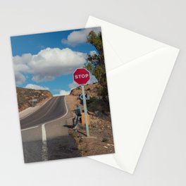 Stop Sign Stationery Cards