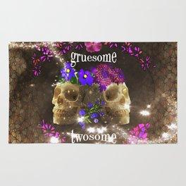 Gruesome Twosome Rug