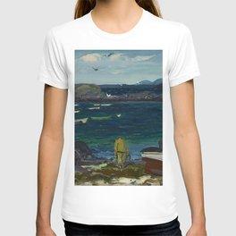 The Harbor, Monhegan Coast, Maine, 1913 T-shirt