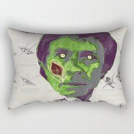 Hulking out like a zombie Rectangular Pillow
