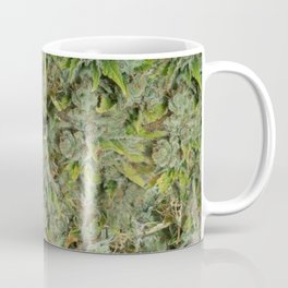 cannabis bud, marijuana macro Coffee Mug