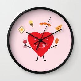 Hungry Heart Wall Clock