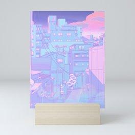 Moonlight City Mini Art Print