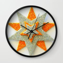 The Star of the Show Wall Clock
