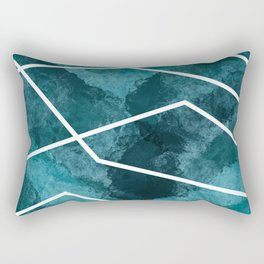Blue 2 Rectangular Pillow