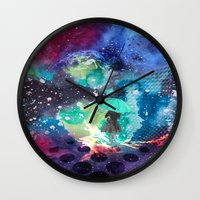 whisky Wall Clocks featuring SPACE by sametsevincer