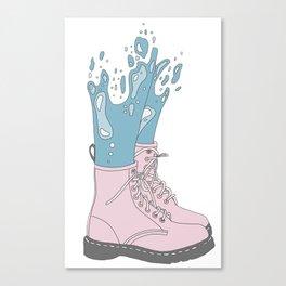 Mermaid Shoes Canvas Print