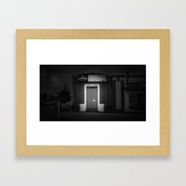 The Christchurch Electricity Substation Project XIII Framed Art Print