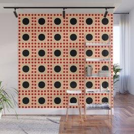 new polka dot 8 - ceramic colors Wall Mural