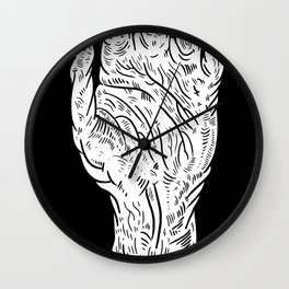 Hand of Glory Wall Clock