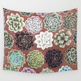 Succulent Life Wall Tapestry