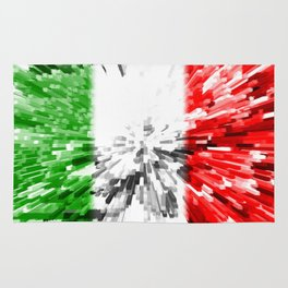 Extruded Flag of Italy Rug