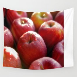 Sweet red Apple Wall Tapestry