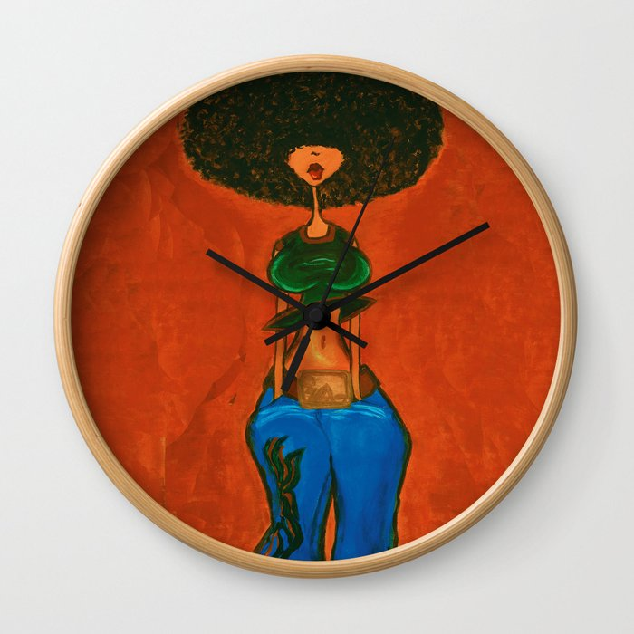 AfroCentric Wall Clock