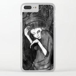 unfortunate Clear iPhone Case