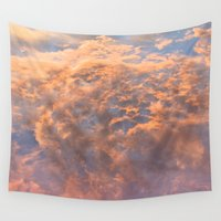 heaven Wall Tapestries featuring HEAVEN by AZZURRO ARTS