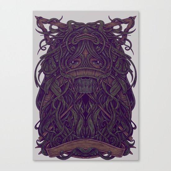 Eye Jungle Canvas Print