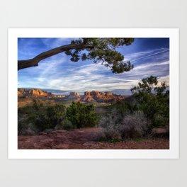 Red Rock Country - Arizona Art Print