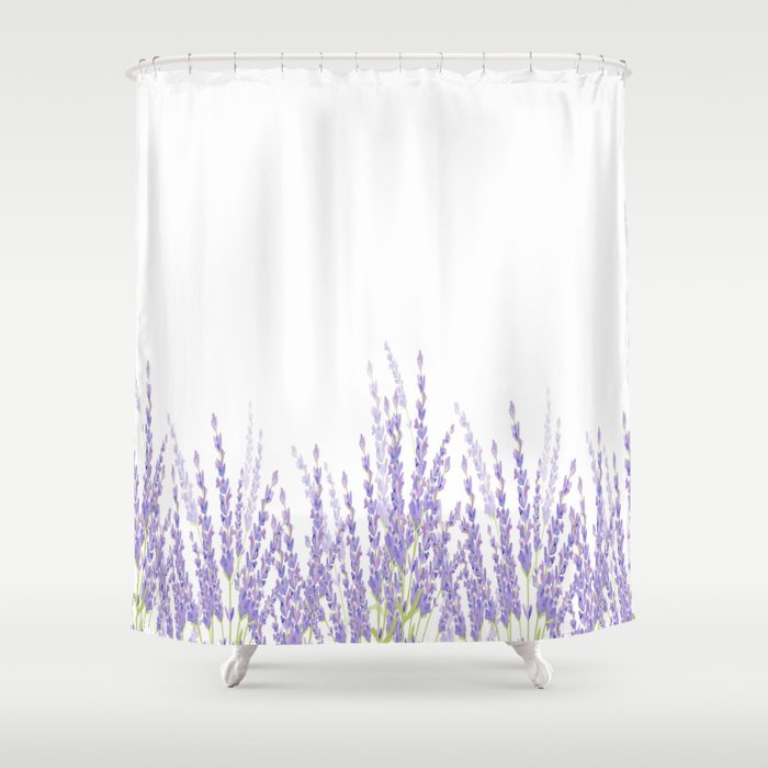 Lavender Shower Curtain by lena127 | Society6
