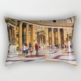 The Pantheon, Rome, Italy Rectangular Pillow