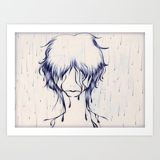 Downpour Truth Art Print