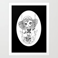 lucky star Art Print
