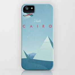 Cairo - Vintage Travel Poster iPhone Case