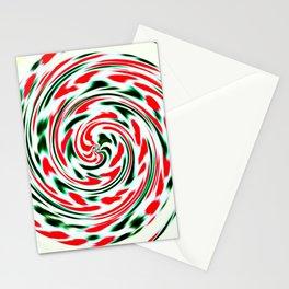 Spearmint Lollipop Stationery Cards