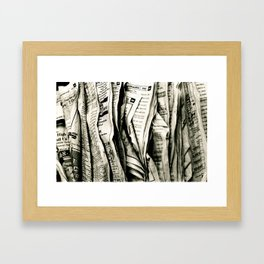 Look Me Up Framed Art Print