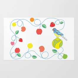 Kitchen trogon Rug