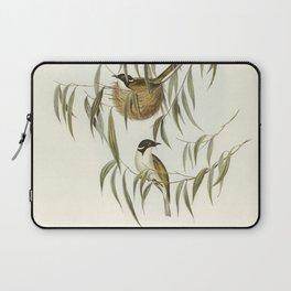 Banded Wren (Alurus splendens) illustrated by Elizabeth Gould (1804-1841) for John Goulds (1804-1881 Laptop Sleeve