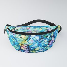 Rainbow Puddles Fanny Pack
