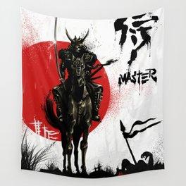 Samurai Master Wall Tapestry