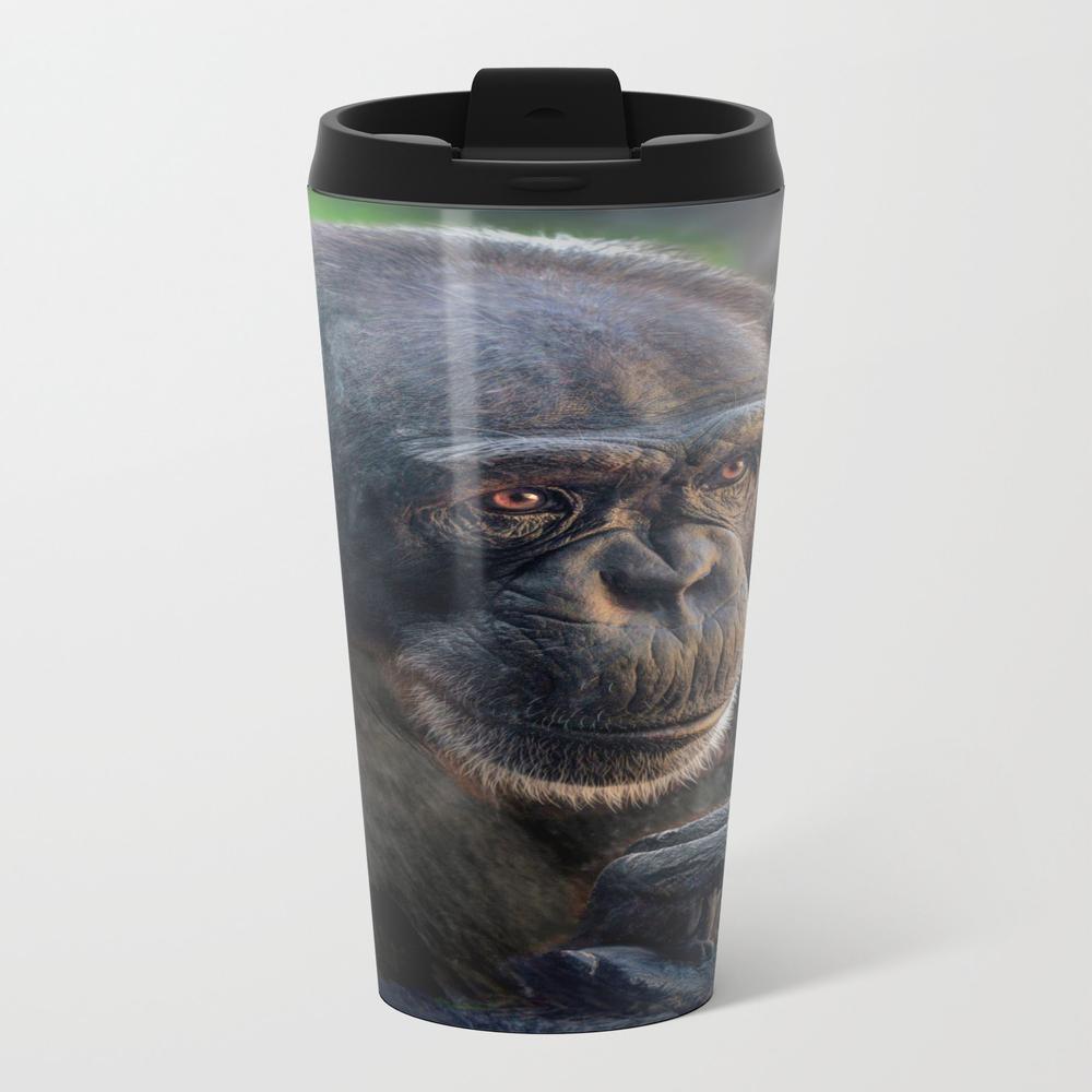 Chimp Metal Travel Mug by Venny MTM8056294