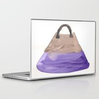 tote bag Laptop & iPad Skins featuring Tote 2 by ©valourine