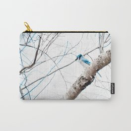 Mr Blue Jay Carry-All Pouch