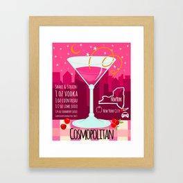 Cosmopolitan Framed Art Print