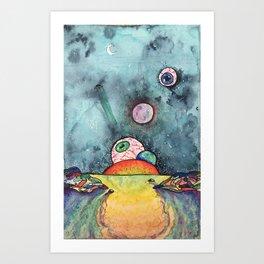inbetweens Art Print