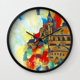 Colours of the Mosque Wall Clock