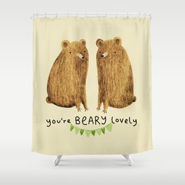 Beary Lovely Shower Curtain