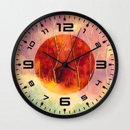 Autumn scenery #16 Wall Clock
