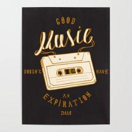 Good Music Cassette Poster