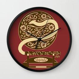 Pipe Fox Wall Clock