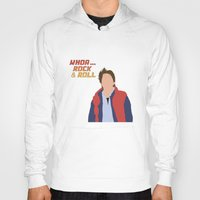 mcfly Hoodies featuring Marty McFly by Christina