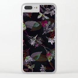Precious Nature 3 Clear iPhone Case